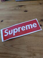 large Red SUPREME vinyl Decal Sticker. Clothing, Classic Skateboard, Logo