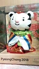 2018 Korea Pyeongchang Winter Olympics Soohorang Mascot Hanbok Bride Plush Doll