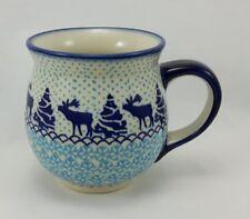 Bunzlauer Keramik Tasse BÖHMISCH MAXI, Becher (K068-JG24) Elch - 0,45Liter