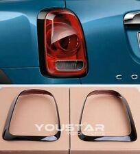 EXPRESS Pair GLOSS BLACK LINE Rear Light Trims for MINI COUNTRYMAN F60 Cooper S
