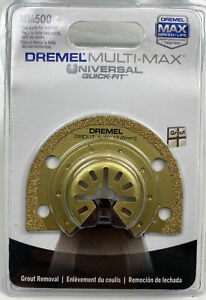 Dremel MM500 1/8-Inch Multi-Max Carbide Grout Blade , Gold