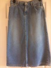 Lovely Ladies Calvin Klein Denim Skirt - Size 10