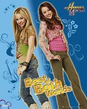 Hannah Montana: lo mejor de ambos mundos-Mini Poster 40 X 50 Cm (nuevo Y Sellado)
