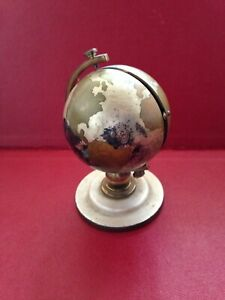 Vintage LSM 7 Jewels Alarm Clock Cased In A Globe