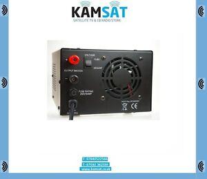 CB RADIO HAM SSB POWER SUPPLY QJPS 30 AMP 220V AC 50-60 Hz 9-15V DC