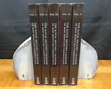 THE ROYAL MILITARY CALENDAR OR ARMY SERVICE AND COMMISSION BOOK - 5 VOLUMES