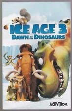 Ice Age 3 Dawn of the Dinosaurs  - Manual ONLY,  Playstation 2