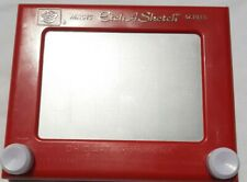 Etch A Sketch, Classic Red Drawing Toy with Magic Screen, Vintage, Used
