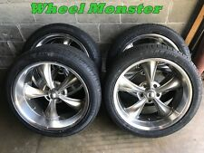 20x8 & 20x10 Staggered Ridler Wheels and tires 5x5 GM Truck Chevy gmc