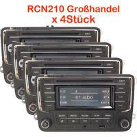4-STK Großhandel Autoradio RCN210 Bluetooth CD USB VW GOLF CADDY POLO EOS PASSAT