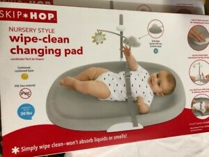 Skip Hop 304050 Cushioned Foam Diaper Changing Pad - Gray