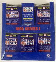 1992 PRO SET SERIES 1 FOOTBALL JUMBO BOX NEW FACTORY SEALED