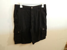 Boys Black Wonder Nation Shorts size 18