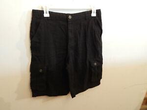Boys Black Wonder Nation Shorts size 18