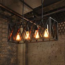 Vintage Ceiling Light Industrial Iron Pendant Lamp Chandelier Lighting Fixtures