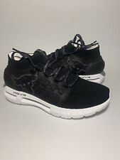 Mens Sz 8.5 Under Armour UA HOVR Phantom Project Rock Running Shoes Black