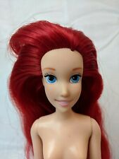 Disney Store Princesses Little Mermaid Ariel BJD Nude Doll for Play/OOAK *READ*