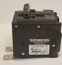 NEW SIEMENS ITE BL220 B220 2 POLE 20 AMP BREAKER TYPE BL BOLT ON SINGLE POLE