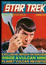 """STAR TREK GIANT POSTER BOOK VOYAGE 5(6.0)(FN)OPENS TO POSTER SIZE 33""""X23"""""""