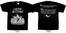 """Carved in Stone """"Des hohen Lied"""" T-Shirt - XL (NEU / NEW)"""