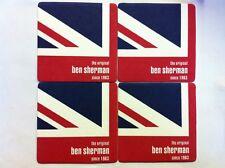 4 x Ben Sherman Beer Mats