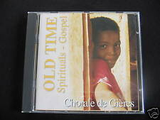 CD CHORALE DE GIERES - SPIRITUALS / GOSPELS / comme neuf