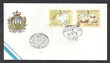 1991 FDC SAN MARINO COLOMBO SCOPERTA AMERICA - NO TIMBRO ARRIVO - RSM1