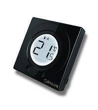 Salus ST320 PB Piano Black S Series Digital Room Stat Heating Thermostat - BNIB