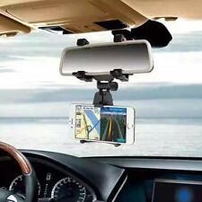 Universal For Cell Phone GPS Auto Car Rearview Mirror Mount Stand Holder Cradle