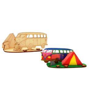Kreativ Set für Kinder, Bus Camper zum Kindergeburtstag, malen, Verschenken