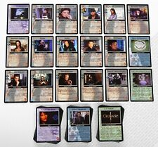 Babylon 5 CCG Crusade Complete Set of 159 Cards Total All 18 Rare R1 41 R2 M/NM