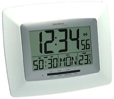 TECHNOLINE DIGITAL RADIO-CONTROLLED WALL CLOCK WS 8100 DATE GERMAN WALL CLOCKS