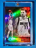 Luka Doncic HOLO REFRACTOR FINISH CHRONICLES ESSENTIALS MAVS - HOT CARD - Mint!