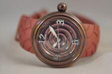 Von Dutch 44mm Dark Bronze 'Metallic Spiral' Swiss Made Watch with $765.00 Tag