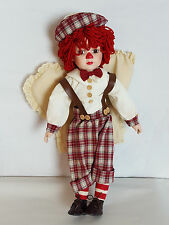 The Connoisseur Collection SEYMOUR MANN Andy Clown Angel Porcelain Doll