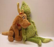 Dr Suess How The Grinch Stole Christmas & Reindog Plush Kohls Cares Kids