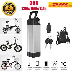 36V 10Ah/15Ah/17Ah E-Bike Akku Li-ion Pedelec Prophet Elektrofahrrad Batterien