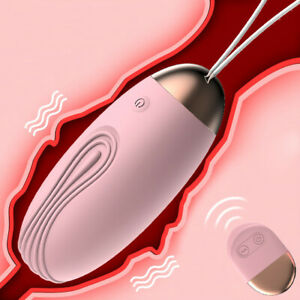 Sex Toys for Women Couples Wireless Remote Control Vibrating Bullet Egg Vibrator