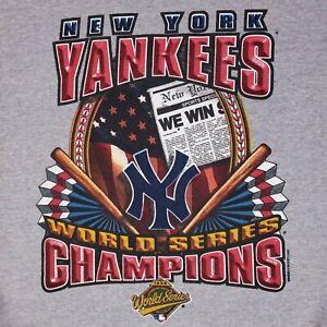 Starter Yankees Crewneck Gray 1996 Champions Mens Size XL World Series New York