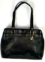 Women's Giani Bernini Casual Black Four Compartment Handbag Purse Shoulder Bag
