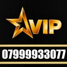 GOLD VIP DIAMOND PLATINUM BUSINESS MOBILE PHONE NUMBER SIM CARD 9999