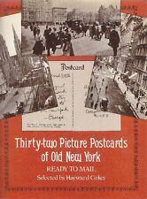 CIRKER. Thirty-two Picture Postcards of New York. Dover Publications, 1976