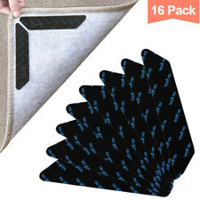 16X Rug Carpet Gripper, Reusable Anti Curling Underlay, Stick & Easy to Remove