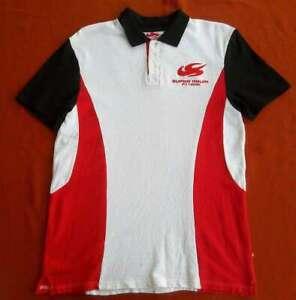 Orig. Honda F1 Super Aguri Polo Shirt L / Weltweit rar! Formel Eins Merchaindise