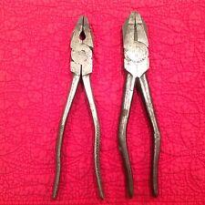 Lineman Pliers 2 pair