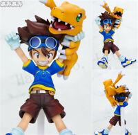 Anime Taichi Yagami Digital Baby Digimon Figure Statue 10cm