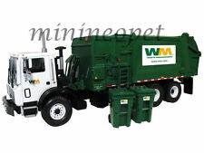 FIRST GEAR-10-4004 MACK MR WASTE REFUSE GARBAGE TRUCK 1/34 WITH BINS GREEN