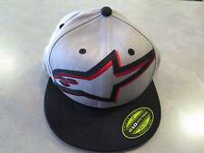 "Alpinestars Cap ""Mackey Faltbill Hat"" Gr. S/M Farbe: light heather grey,5er Pack"