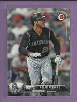 Nolan Arenado 2017 Bowman Card # 49 Colorado Rockies Baseball MLB