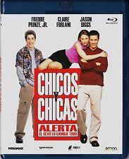 CHICOS Y CHICAS de Robert Iscove.  BLU-RAY. Tarifa plana en envío, 5 €
